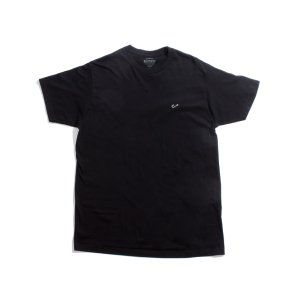 Embroidered Black Hook Tee Front