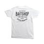 The Baitshop Stockyards Tee White Back
